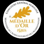 Médaille d'Or au concours Général de Paris